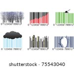 Barcodes - stock vector