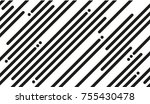 lines pattern vector | Shutterstock .eps vector #755430478