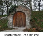 Small photo of Ferrara, Italy. Air-raid shelter, World War II.