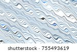 abstract digital fractal... | Shutterstock . vector #755493619