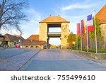 german wine gade in schweigen ... | Shutterstock . vector #755499610
