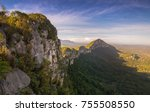 amazing view great wall of... | Shutterstock . vector #755508550