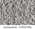 white carpet background texture ... | Shutterstock . vector #755527546