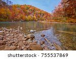 The Cumberland River at Big South Fork National River and Recreation Area, TN