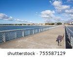 arcachon bay  france   andernos ... | Shutterstock . vector #755587129