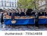paris  france    november 4 ... | Shutterstock . vector #755614858