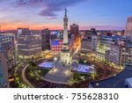 indianapolis  indiana  usa... | Shutterstock . vector #755628310