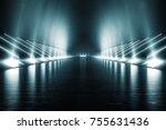 light and reflection elegant...   Shutterstock . vector #755631436