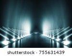 light and reflection elegant... | Shutterstock . vector #755631439