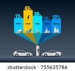 vector illustration infographic ... | Shutterstock .eps vector #755635786