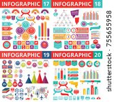 infographic business design... | Shutterstock .eps vector #755655958
