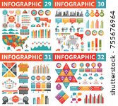 infographic business design... | Shutterstock .eps vector #755676964