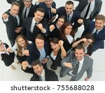 professional business team... | Shutterstock . vector #755688028