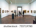 abstract defocused blur art... | Shutterstock . vector #755719780