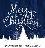 christmas decoration  christmas ...   Shutterstock . vector #755736040