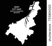 gent  oost vlaanderen  belgium... | Shutterstock .eps vector #755804320