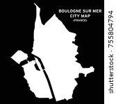 boulogne sur mer  france city... | Shutterstock .eps vector #755804794