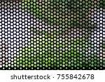 metal mesh of speaker grill...   Shutterstock . vector #755842678
