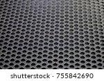 speaker grille texture   Shutterstock . vector #755842690