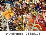 flower   Shutterstock . vector #75585175