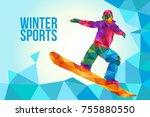 a vector illustration of... | Shutterstock .eps vector #755880550