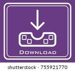 download vector icon | Shutterstock .eps vector #755921770
