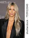 kim kardashian west at the 2017 ... | Shutterstock . vector #755922040