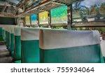 public transport seat ... | Shutterstock . vector #755934064