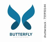 Abstract Butterfly Logo...