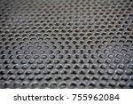 metal mesh of speaker grill...   Shutterstock . vector #755962084