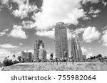 miami  high residential... | Shutterstock . vector #755982064