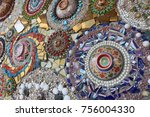 art of mosaic tile  pottery...
