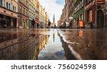 gdansk  poland   november 06... | Shutterstock . vector #756024598