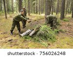 Foresters Cut And Stacked Old...