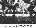 Stock photo new year celebration party in the club 756026983