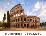 The Coliseum Or Flavian...