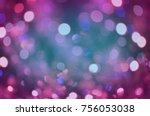 Abstract Violet Bokeh Backdro...