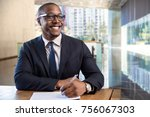charming proud business... | Shutterstock . vector #756067303