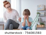 parenthood and child... | Shutterstock . vector #756081583
