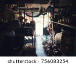 Small photo of The shop has been open for a long time. The condition of this shop is so old, it is a disgrace to present the concept of life and living.