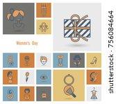 design elements for... | Shutterstock .eps vector #756084664