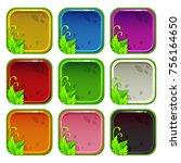cartoon colorful app icon...