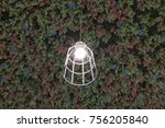 lamps hanging on the ceiling   Shutterstock . vector #756205840