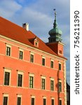 warsaw poland 09 12 17  the... | Shutterstock . vector #756211390