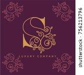 vector graphic elegant logotype ...   Shutterstock .eps vector #756213796