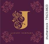 vector graphic elegant logotype ...   Shutterstock .eps vector #756213823
