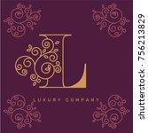 vector graphic elegant logotype ...   Shutterstock .eps vector #756213829
