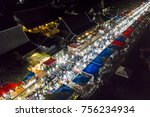 drone aerial view of luang... | Shutterstock . vector #756234934