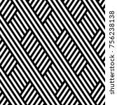 vector seamless pattern. modern ... | Shutterstock .eps vector #756238138