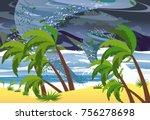 vector illustration of... | Shutterstock .eps vector #756278698